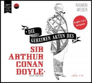 *2 CD MP3* Die geheimen Akten des Sir Arthur Conan Doyle