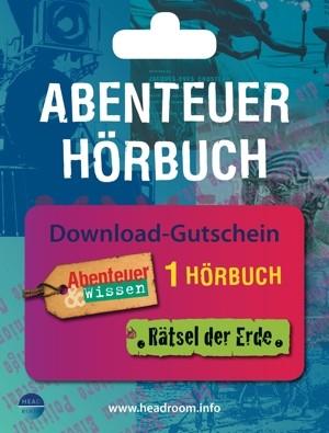 *DOWNLOAD GUTSCHEIN* DAS IDEALE GESCHENK: Abenteuer Hörbuch