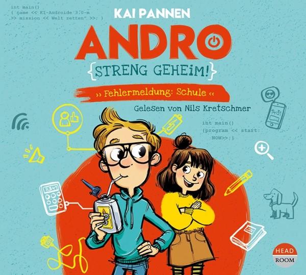 NEU JULI 2021 *CD* Andro, streng geheim! Fehlermeldung: Schule